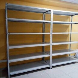 Мебель для учреждений - Стеллаж металлический (145 кг на полку) , 0
