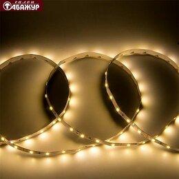 Светодиодные ленты - Светодиодная лента 12V 60LED 4,8W тёплый свет, 0