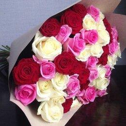 Цветы, букеты, композиции - 101 роза. Букет №92, 0