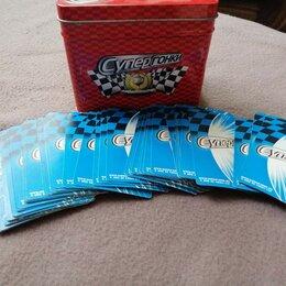Коллекционные карточки - Игровые карточки супергонки, 0