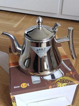 Заварочные чайники - Чайник металл 1л., 0