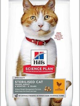 Корма  - Сухой корм для кошек Hill's Science Plan 10 кг., 0