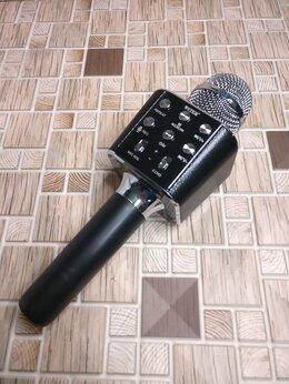 Микрофоны - Микрофон блютус WS1688 ,Черный, 0