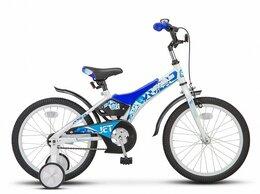 """Велосипеды - Велосипед Stels Jet 18"""" Z010/синий, 0"""