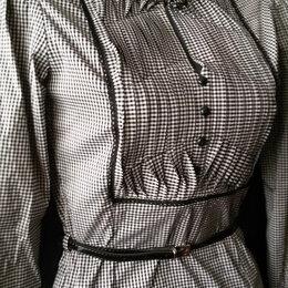 Блузки и кофточки - Блузка в мелкую клетку с дл/рукавом р. 42-44 новая Турция, 0
