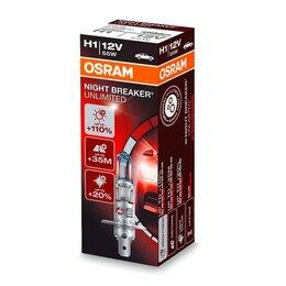 Лампочки - Галогенная лампа H1 Osram Night Breaker…, 0