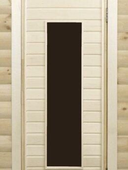 Двери - Банная дверь липа остекленная ПО-4, 0