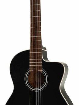 Акустические и классические гитары - TAKAMINE GC1CE-BLK Электроакустика, 0
