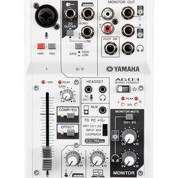 Микшерные пульты - Yamaha AG03 Микшерный пульт, аналоговый,…, 0