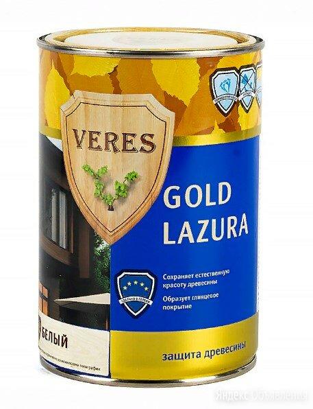 Верес Голд лазура №1 Бесцветный 2,7 л по цене 1295₽ - Аксессуары, фото 0