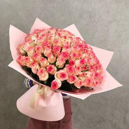 Цветы, букеты, композиции - 101 роза. Букет №82, 0