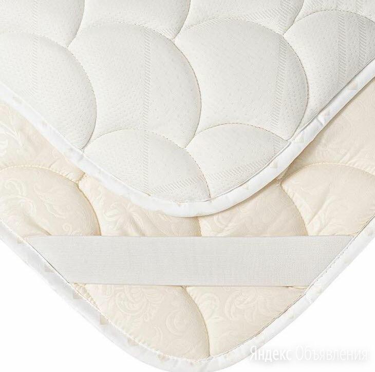 Топпер наматрасник Василиса 90х200 см белый новый по цене 1700₽ - Наматрасники и чехлы для матрасов, фото 0