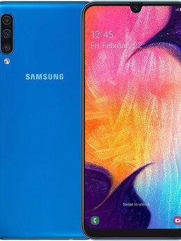 Мобильные телефоны - Смартфон Samsung Galaxy A50 128Gb Blue (2019), 0