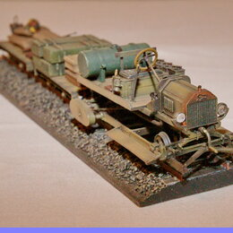 Сборные модели - 1/35 модель танка декавилька Форд-Т Первая Мировая война, 0