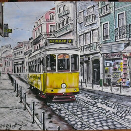 "Картины, постеры, гобелены, панно - Картина ""Трамвай желаний"", 0"