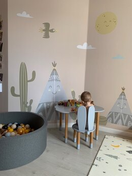Стульчики для кормления - Детский стол и стульчик , 0