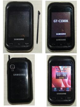 Мобильные телефоны - Samsung б/у GT C3300k смартфон, 0