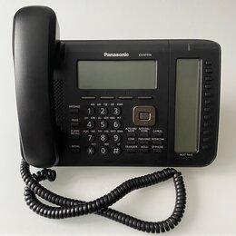 Системные телефоны - Panasonic KX-NT556RU - IP телефон. Черный, в наличии., 0
