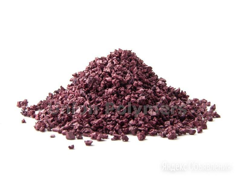 Малиновая резиновая крошка по цене 90₽ - Садовые дорожки и покрытия, фото 0