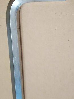 Рожковые, накидные, комбинированные ключи - Ключ шестигранный Шестигранник 10мм 125х50мм, 0