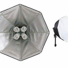 Осветительное оборудование - Набор FL305-60 (осветитель, октабокс) постоянный свет, 0
