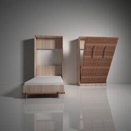 Кровати - Подъемная откидная шкаф кровать трансформер вс.1 купить в Новосибирске, 0