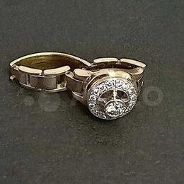 Кольца и перстни - Печатка rolex с Бриллиантами, 0