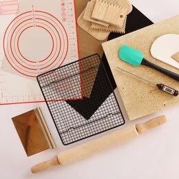 Посуда для выпечки и запекания - Кондитерский набор с пекарским камнем Эстет, 0