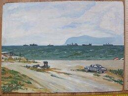 Картины, постеры, гобелены, панно - картина Крымский Берег, масло, оргалит , 0