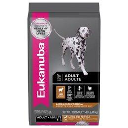 Корма  - Сухой корм Eukanuba Dog All Breed Lamb Rice 12 кг, 0