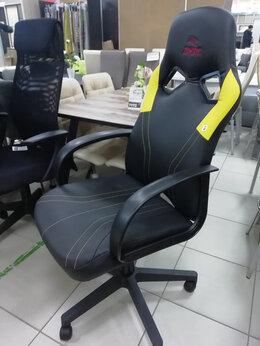 Компьютерные кресла - Геймерское кресло  черно-желтое в сборе, 0
