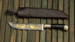 Ножи кухонные - УП-61 Кухонный Нож ПЧАК. Ручная работа. , 0