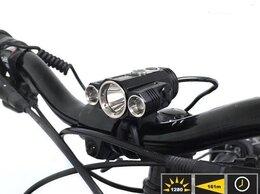 Фонари - Фара велосипедная -Фонарь налобный -W601 (3L,…, 0