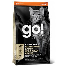 Корма  - Go! Cat Carnivore Lamb Wild Boar Recipe 7,26 кг, 0