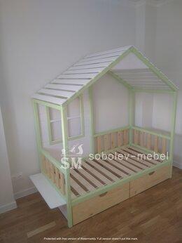 Кроватки - Кровать шалаш с окошками, 0