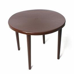 Столы и столики - Стол Стандарт Пластик Групп круглый 900х900, 0