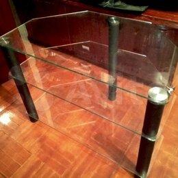 Тумбы - Стеклянная тумба-столик, 0
