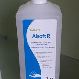 Дезинфицирующие средства - Алсофт Р, Alsoft R  кожный антисептик  для рук, готовый к применению 1л., 0