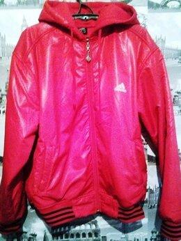 Куртки - Adidas - куртка красная спортивная утепленная с…, 0