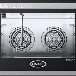 Жарочные и пекарские шкафы - Печь конвекционная Unox XEFT-04EU-ELDV, 0