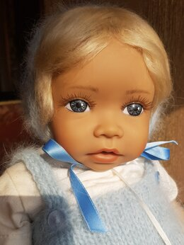Куклы и пупсы - Маленькая кукла куколка Angela Sutter винтажная…, 0