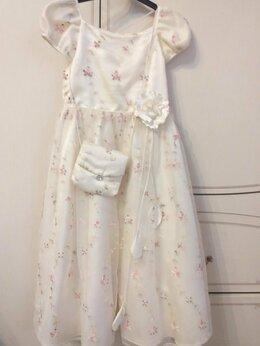 Платья и сарафаны - Праздничное платье для девочки (рост 128см), 0