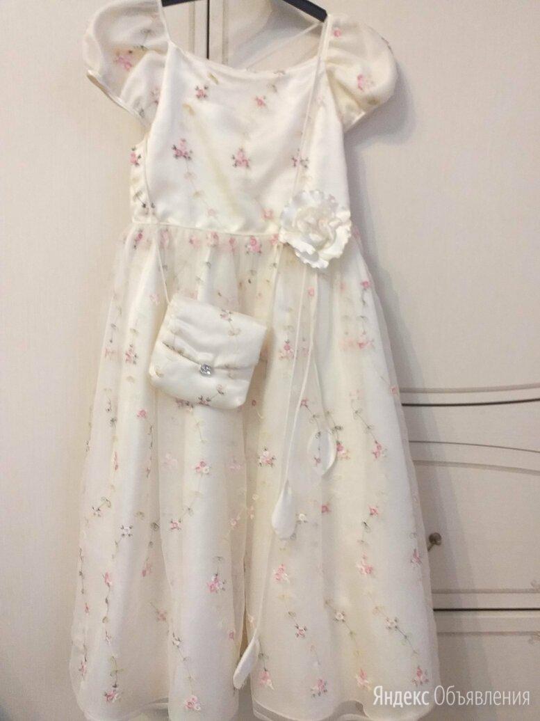 Праздничное платье для девочки (рост 128см) по цене 1000₽ - Платья и сарафаны, фото 0