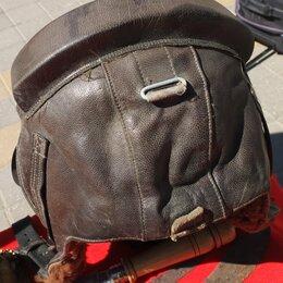Военные вещи - шлем летчика кожаный,54 размер, СССР, 0