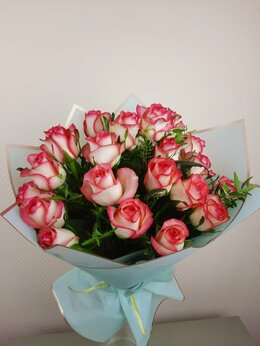 Цветы, букеты, композиции - Букет красных роз, 0