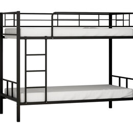 Кровати - Металлическая двухъярусная кровать Севилья-2, 0