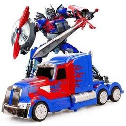 Радиоуправляемые игрушки - Р/У трансформер MZ Optimus Prime 2336Q 1/14, пульт ружьё, 0