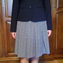 Жакеты - Жакет женский Emma James темно-синий размер 48-50, 0