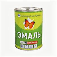 Эмали - ЛЕНИНГРАДСКИЕ КРАСКИ Эмаль ПФ-115 ЭКОНОМ серая (0,9кг), 0