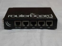 Проводные роутеры и коммутаторы - Гигабитный роутер Mikrotik RouterBoard 450G, 0